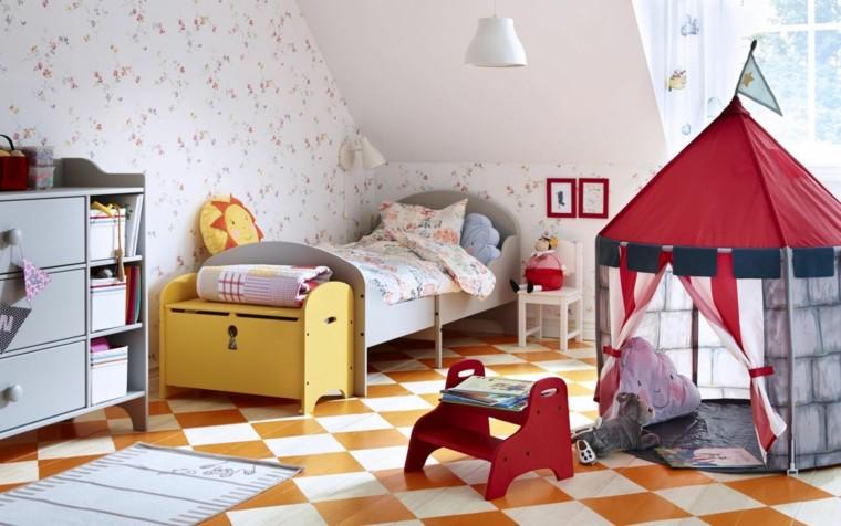decoracion de habitacion para ninos tienda campana ideas