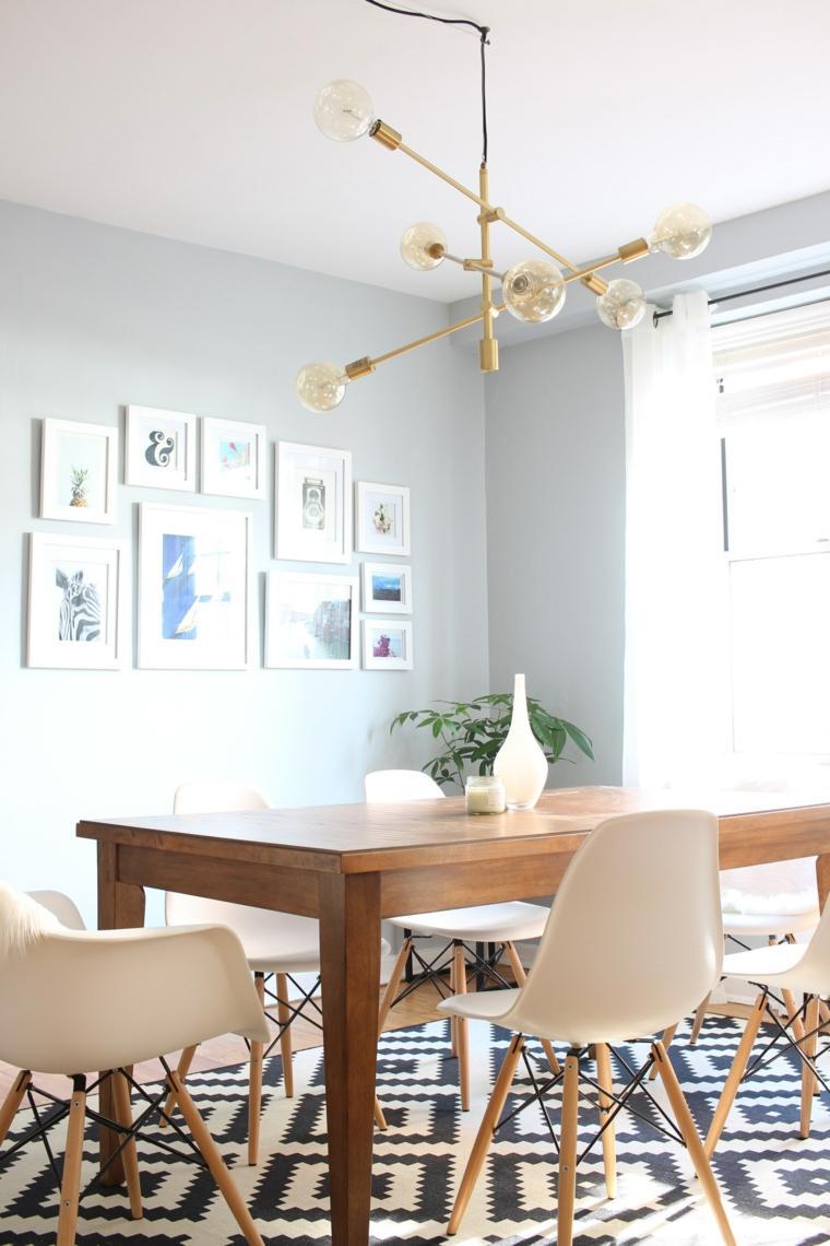 decoracion de interiores tendencias 2017 muebles detalles metalicos ideas