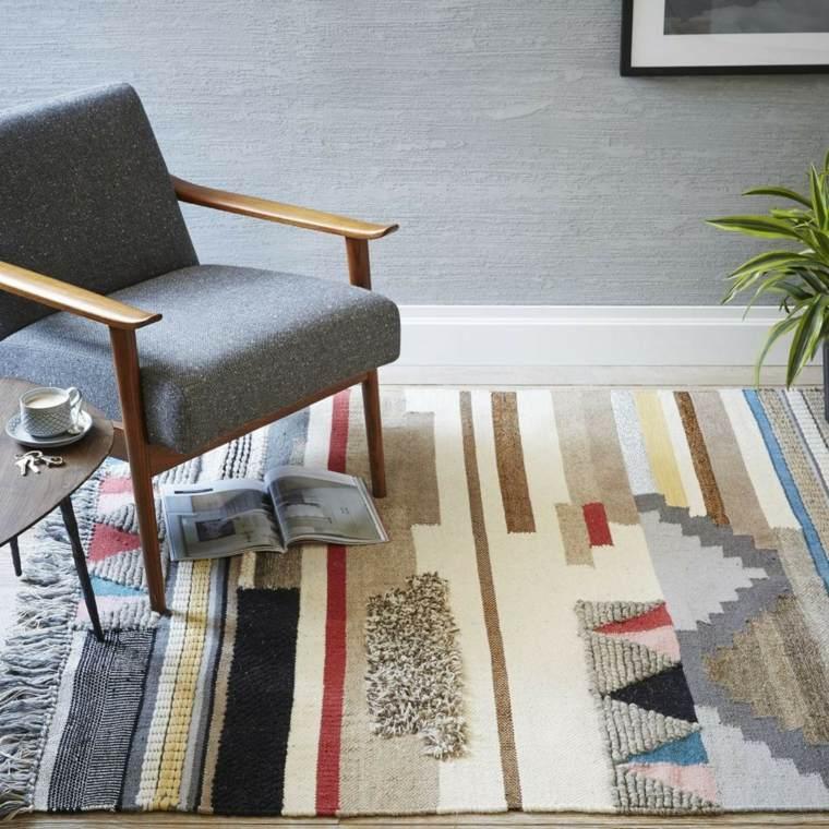 decoracion de interiores tendencias 2017 muebles simples alfombras ideas