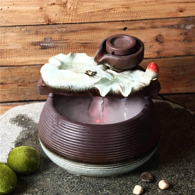 decoración feng shui agua