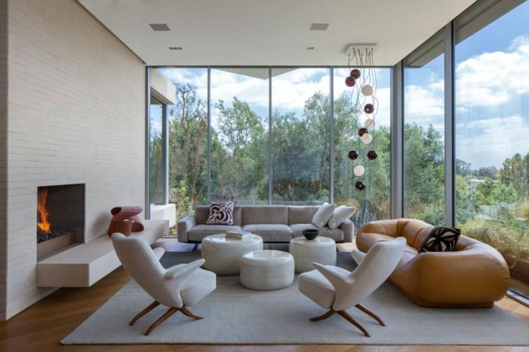 decoración muebles salón belzberg architects ideas