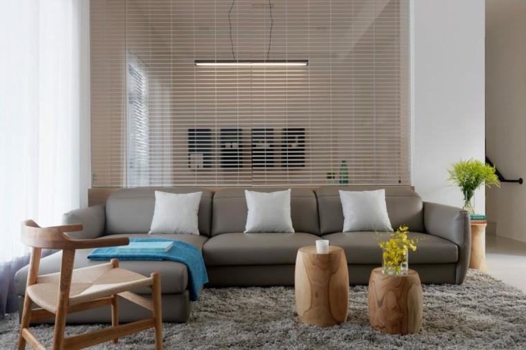 decoracion muebles salon mori design estilo moderno ideas