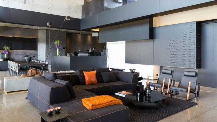 decoración muebles salón nico van der meulen architects ideas
