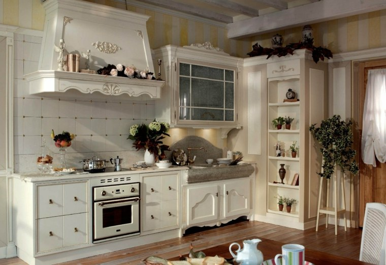 Decoracion provenzal 26 interiores al estilo franc s tan - Cocina estilo provenzal ...