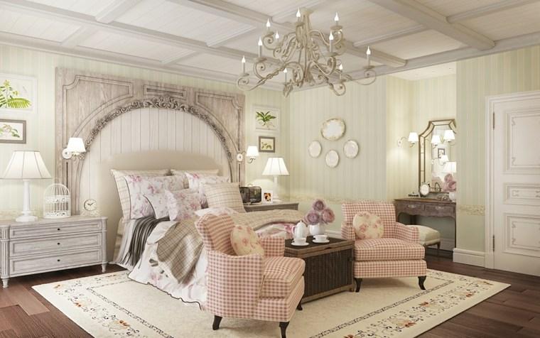 Decoracion provenzal 26 interiores al estilo franc s tan - Dormitorios estilo provenzal ...