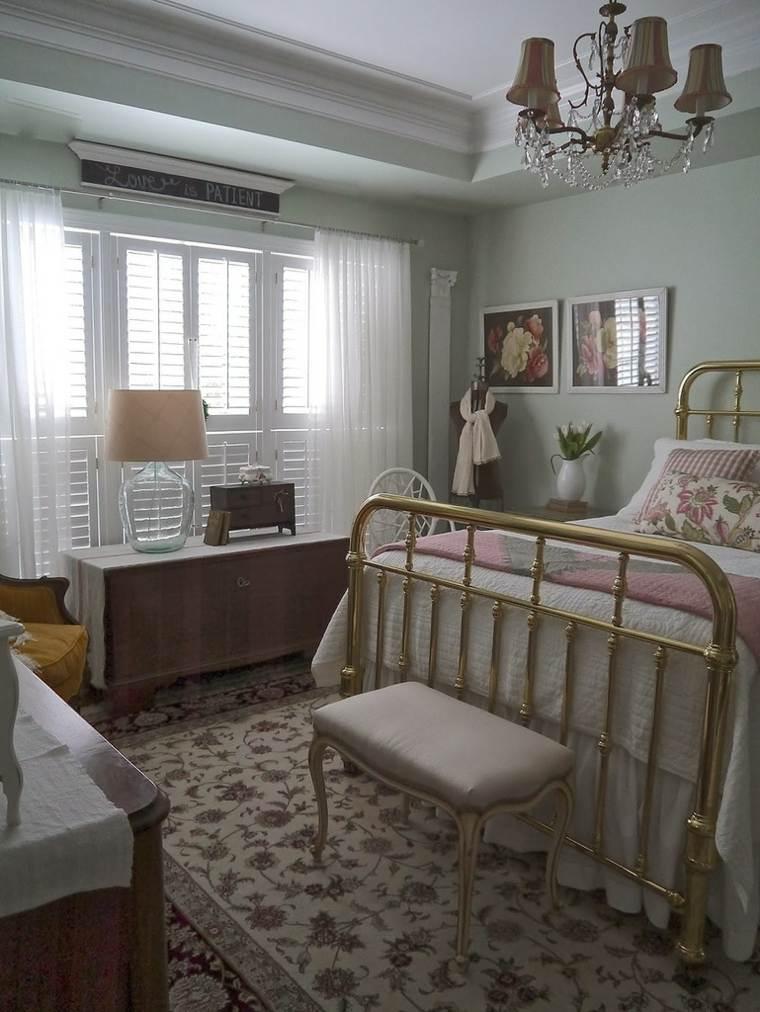 decoracion provenzal dormitorio diseno original ideas