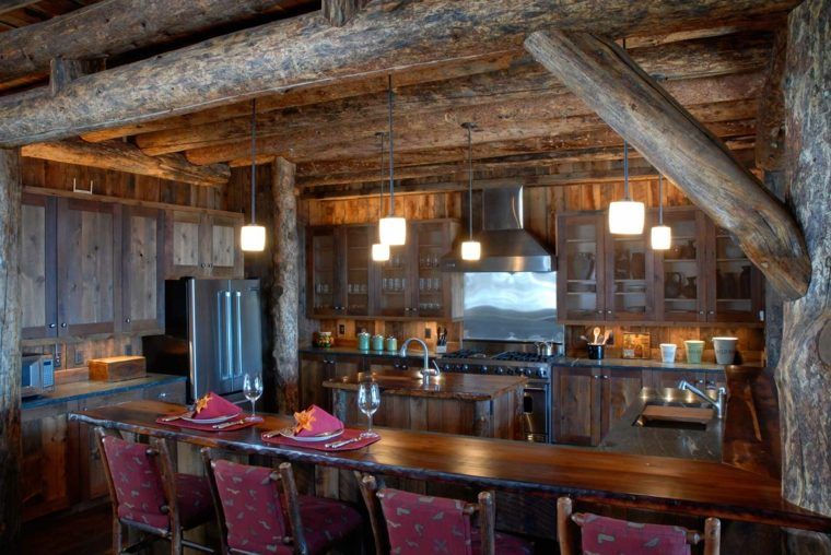 decoración rural interior