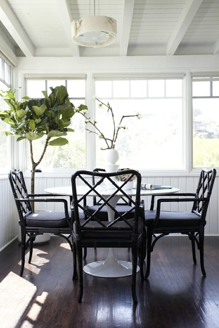 decoración de interiores tendencias 2017 plantas decorar comedor diseno ideas