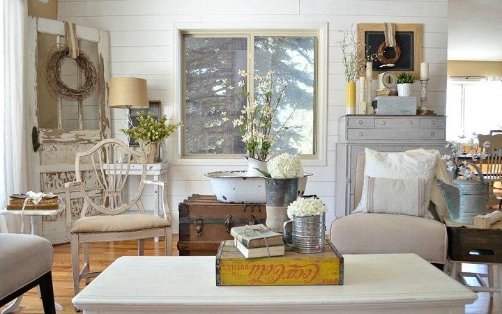 Decoracion vintage diseño elegante para interiores increíbles