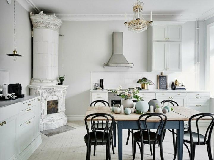 decoracion vintage diseño muebles cocina ideas
