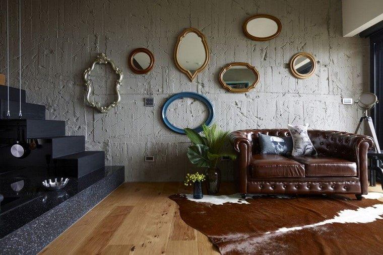decoracion vintage pared marcos kc design studio ideas