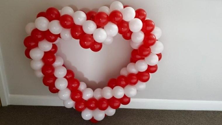 decoraciones con globos inteiores