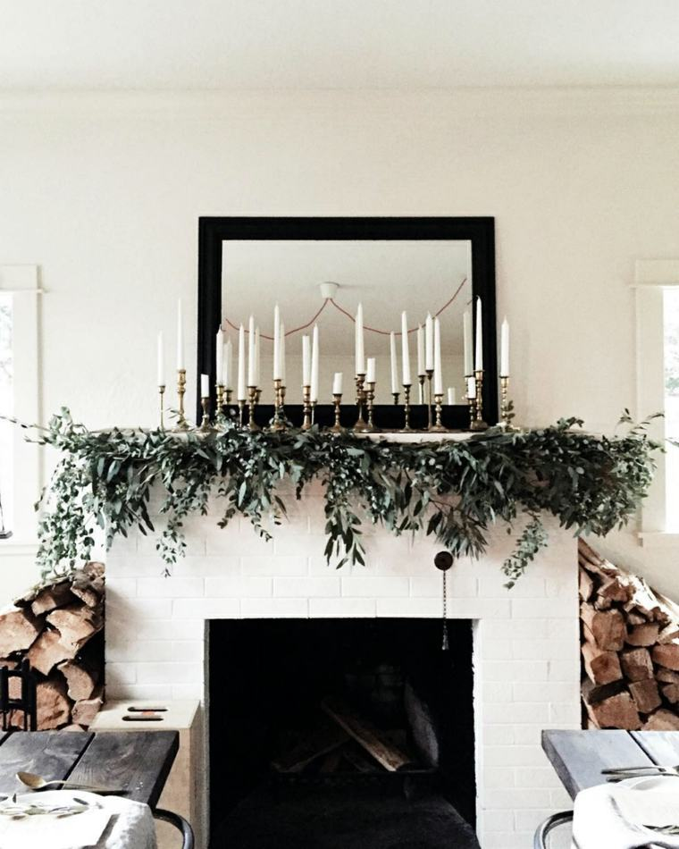 decoraciones navideñas salón