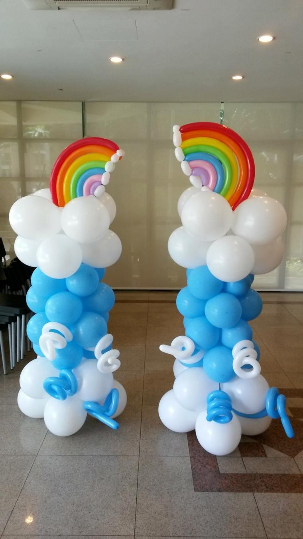 Decoraciones con globos para eventos importantes - Decoracion de colores ...