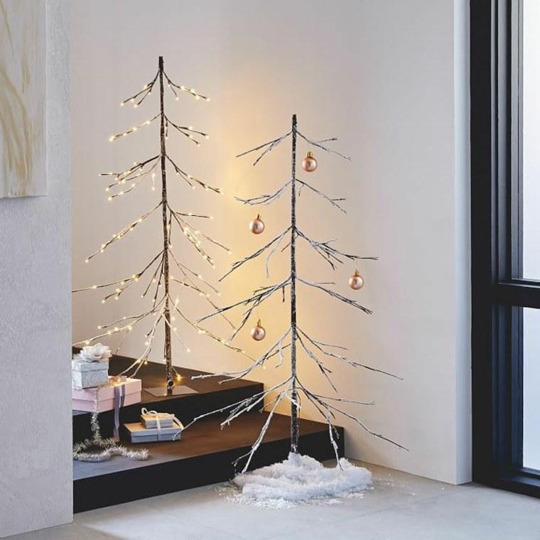 decorado navideño interiores casas