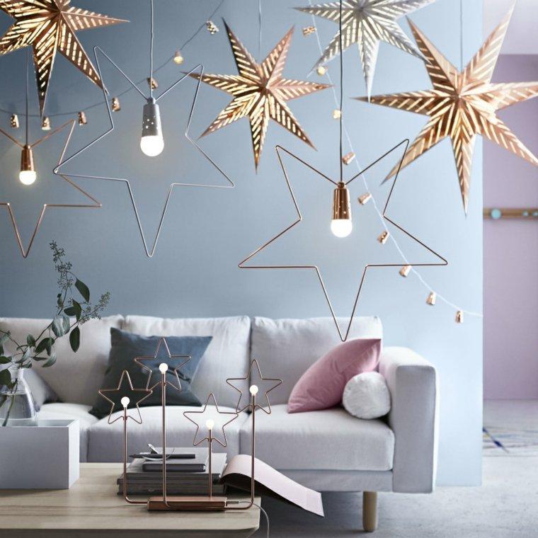 decorado navideño sala de estar