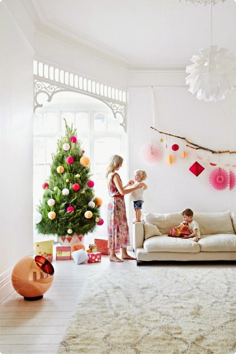 decorado navideño salón