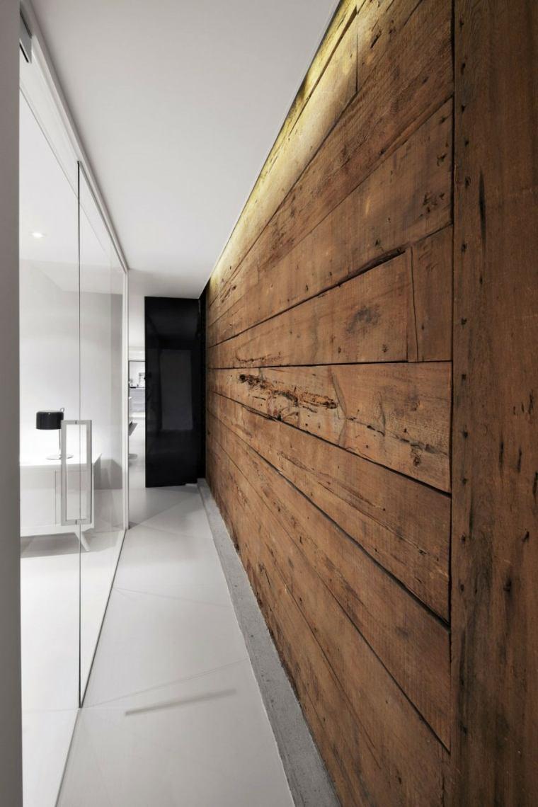 Pasillos pintados y decorados para interiores modernos - Decorar pasillos largos ...