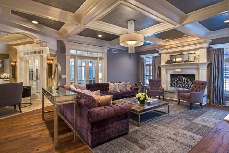 decorar salones alfombras ramo centros