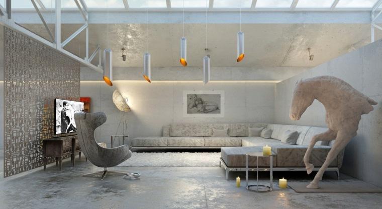 decorar salones ideas plateados elementos velas