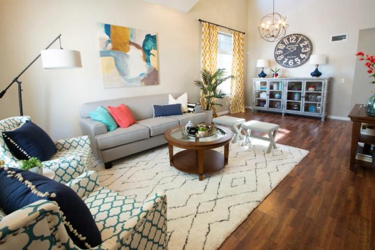 decorar salones reciclado mueble amarillo