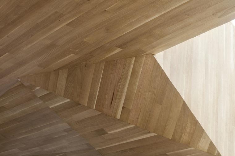 detalle techo estructura natural acabado
