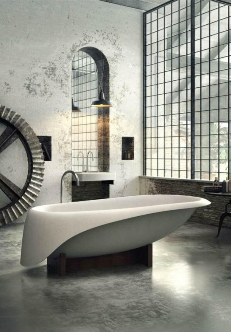 diseño bañera moderna independiente