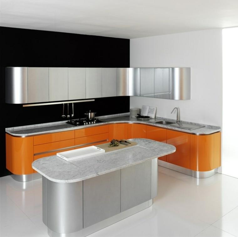 diseño cocina barata estilo futurista