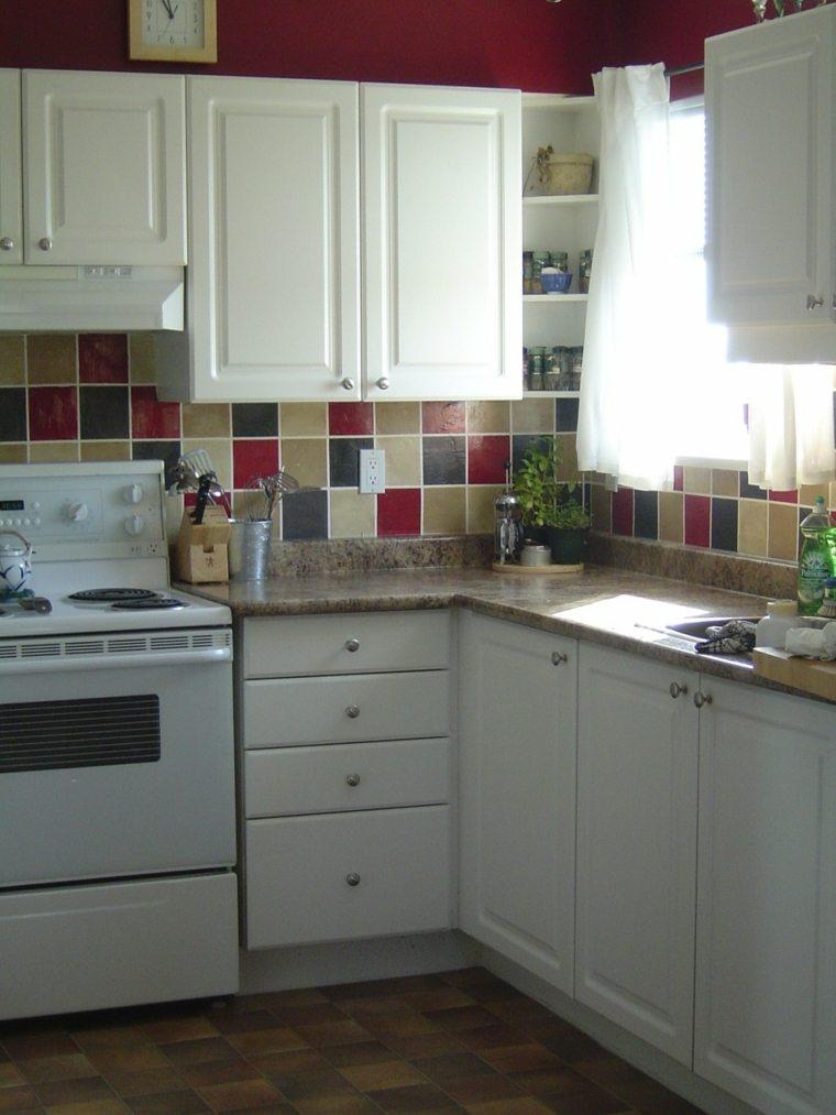 Cocinas baratas ideas para muebles de cocina baratos - Cocina moderna pequena ...