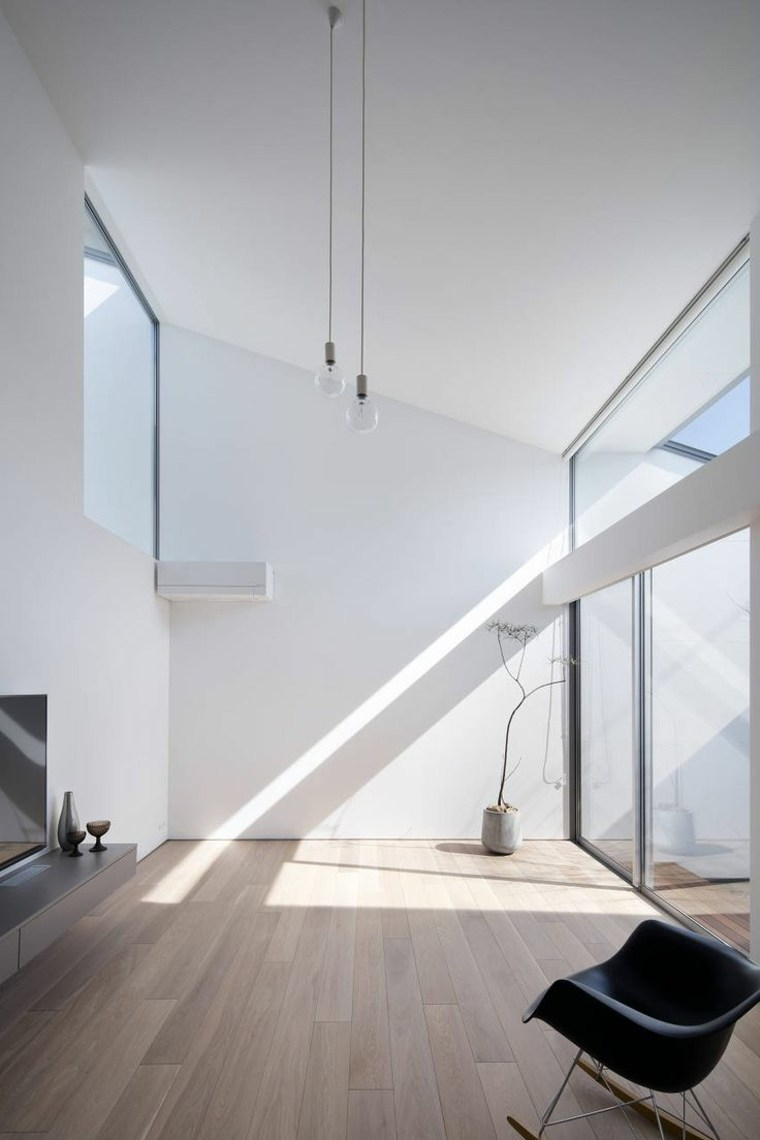 Interiores modernos e inspiradores de estilo minimalista - Salones de diseno minimalista ...