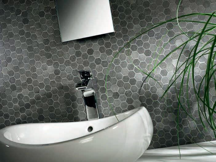 diseño pared cuarto baño azulejos