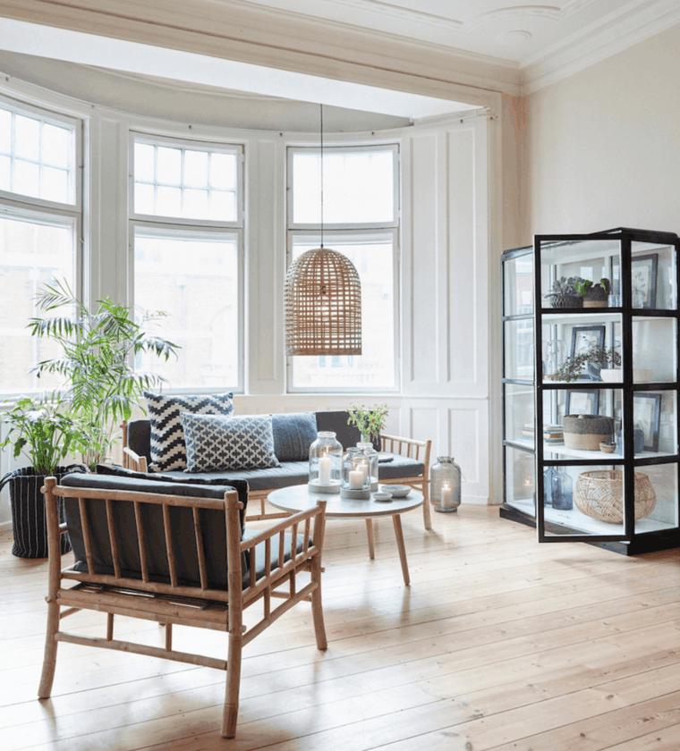 diseño sala de estar nordica