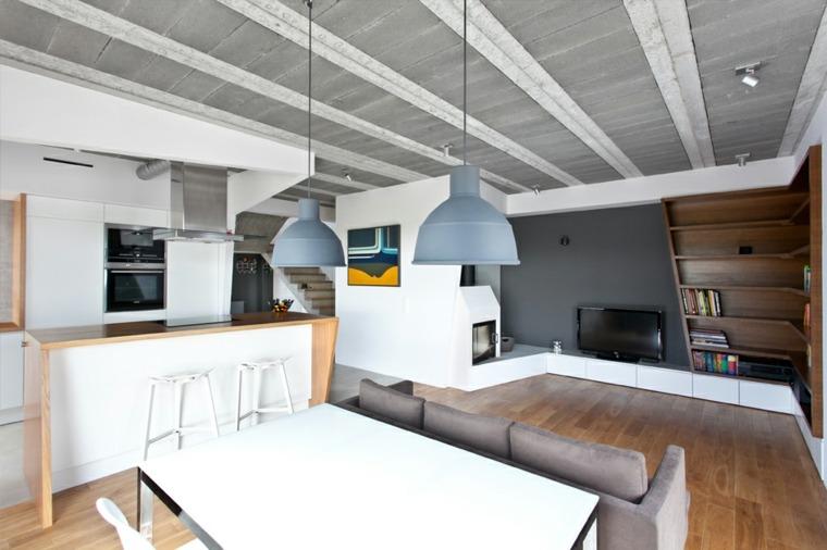 diseño salón comedor cocina