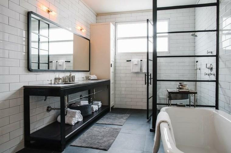 Modelos de cuartos de baño modernos - 42 diseños -