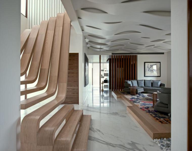 Escalera decorativa descubre los dise os m s extravagantes - Diseno de una escalera ...