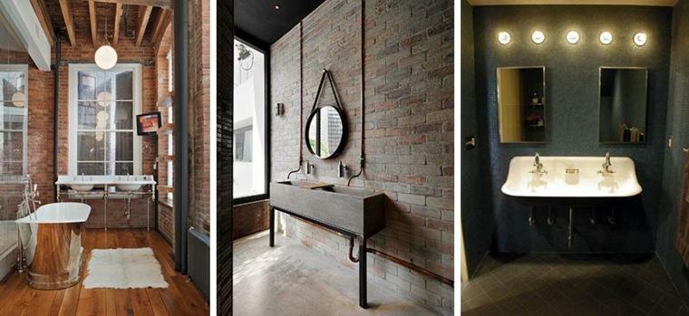 Modelos de cuartos de ba o modernos 42 dise os for Diseno estilo industrial