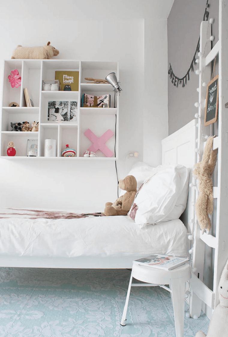 habitación infantil estilo nordico