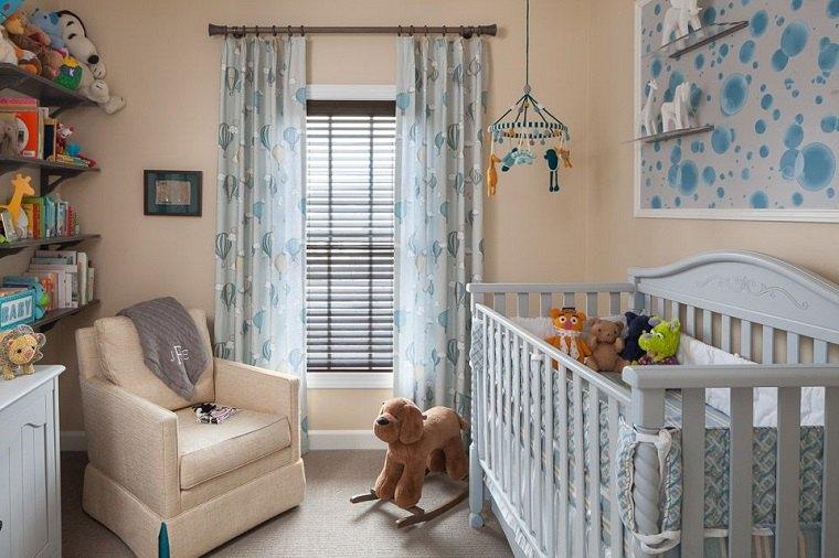 dormitorio bebe habitacion pequena opciones ideas