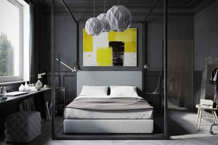 dormitorio cama dosel diseno opciones denis krasikov ideas