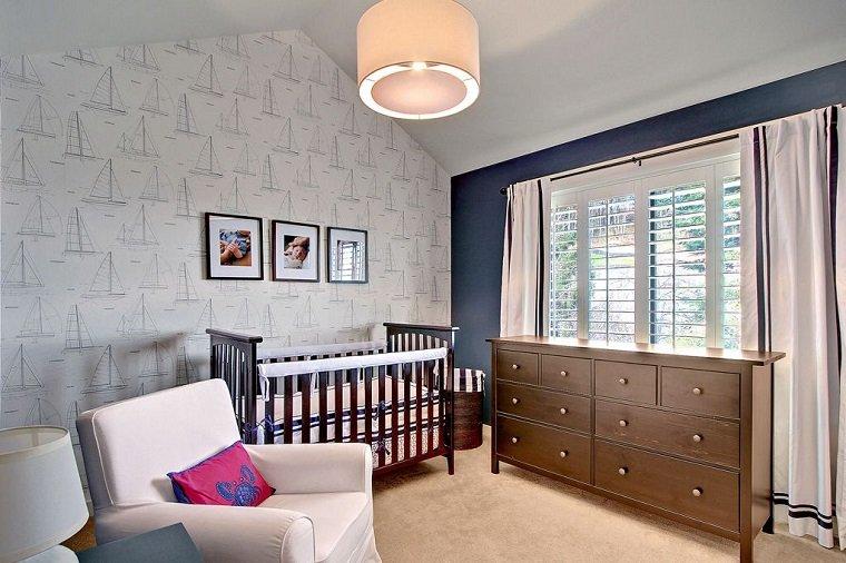 dormitorio cuna madera comoda grande diseno ideas