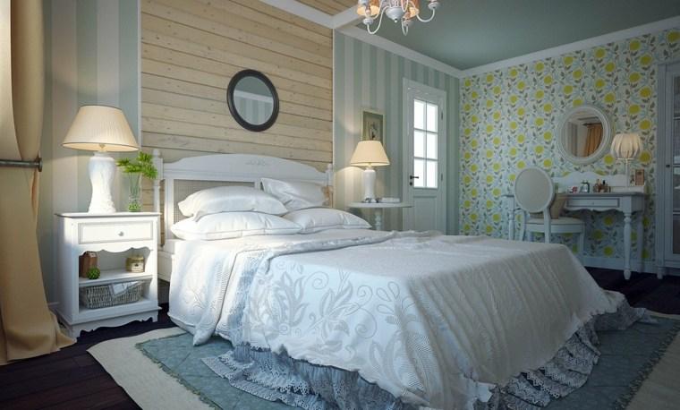 dormitorio diseno estilo provenzal muebles ideas