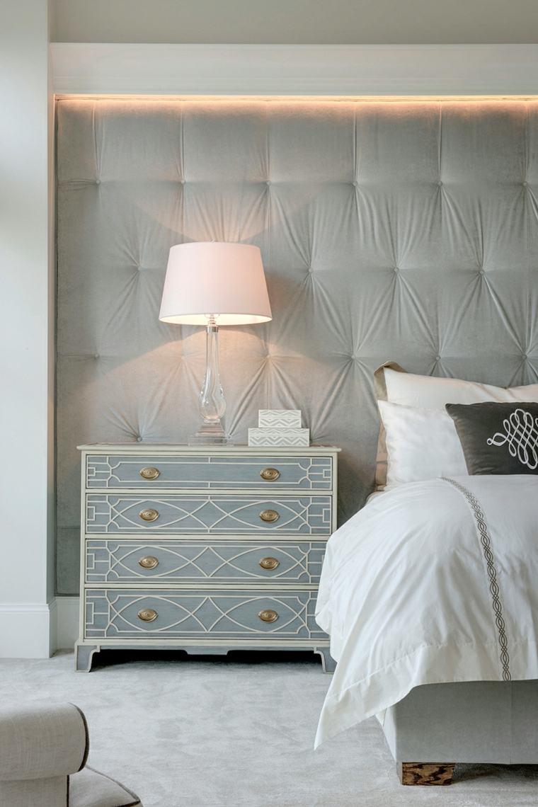 dormitorio estilos led camas claros