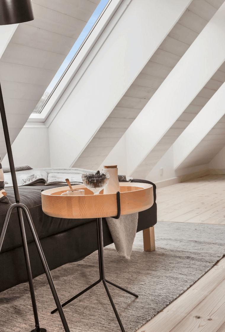 dormitorio estilo minimalista moderno