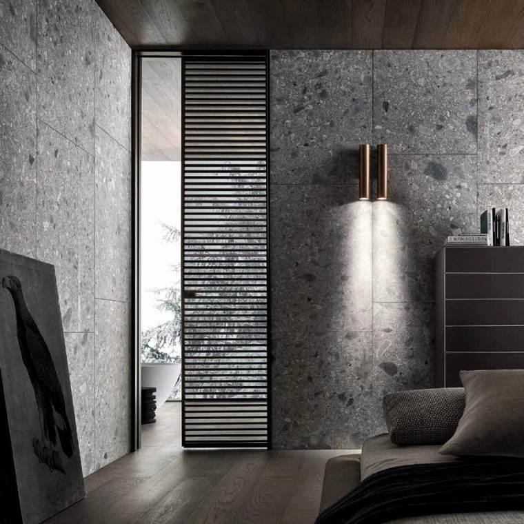 dormitorio moderno puerta metroarredo ideas