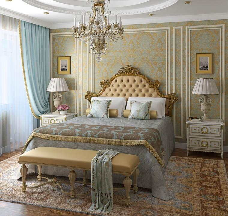 dormitorios clásicos estilo alfombra grande ideas