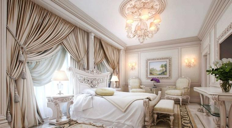 dormitorios clásicos estilo amplios diseno neutral ideas