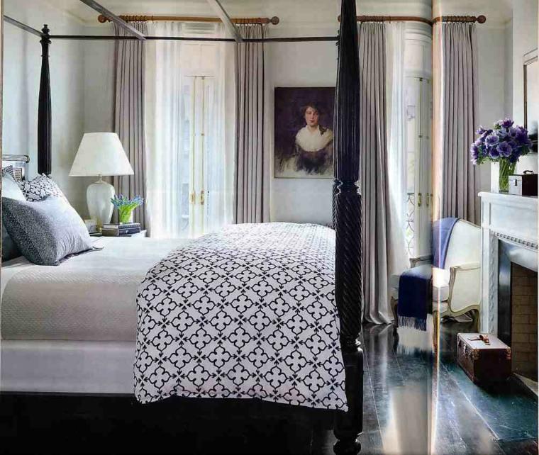 dormitorios clasicos estilo cama dosel opciones modernas ideas