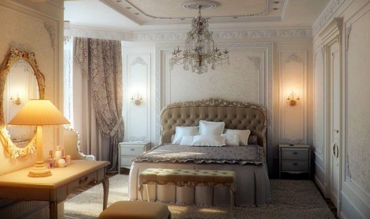 dormitorios clasicos estilo cama grande opciones ideas