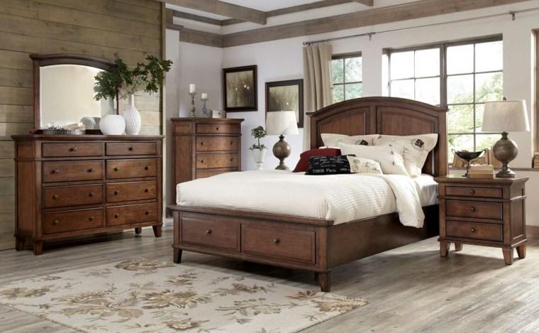 dormitorios clasicos estilo combninacion estilo rustico ideas