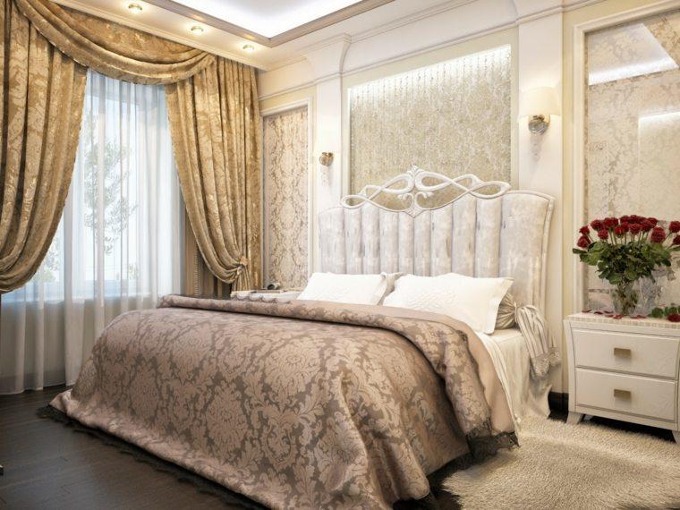 dormitorios clasicos estilo diseno espacio luminoso ideas